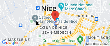 Quick Jean Medecin - Plan