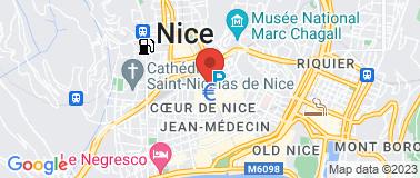Cinéma Pathé Nice Paris - Plan