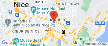 Bowling de Nice Acropolis - Plan