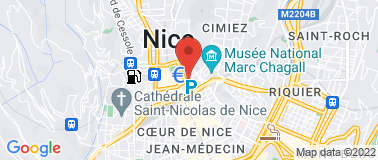 Taxi Riviera Nice  - Plan