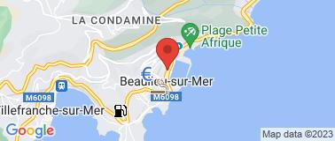 Station Total Beaulieu sur Mer - Plan
