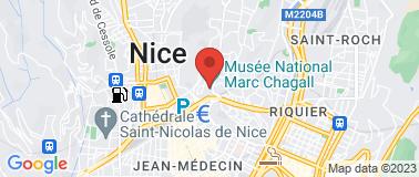 Musée National Marc Chagall - Plan