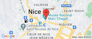 Musée National Marc Chagall - Plan