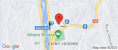 Hotel Kyriad Nice Stade ** - Plan