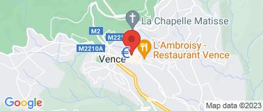 MUSEE DE VENCE - FONDATION E.H  - Plan