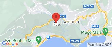 Jardin Exotique d\'Eze - Plan