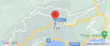 Station Service Relais d\'Eze - Plan