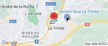 Laboratoire Labazur La Trinité - Plan