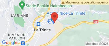 Station Auchan la Trinité - Plan