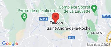 Mairie de Falicon - Plan