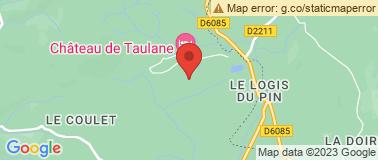 Golf & Château de Taulane - Plan