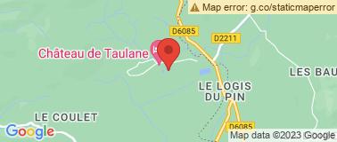 Taulane Golf & Château - Plan