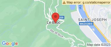 Les Arts d\'Azur du Broc - Plan