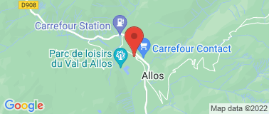 Val d Allos Office de Tourisme - Plan