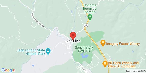 Google Map of Glen Ellen, CA