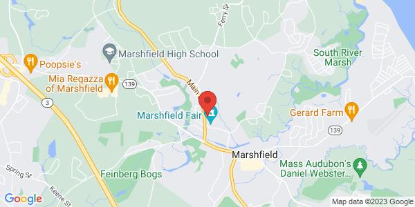 Google Map of 140 MAIN STREET. MARSHFIELD, MA 02050