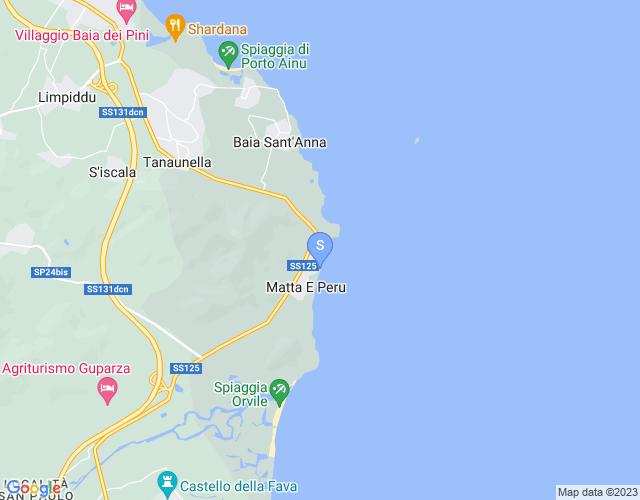 Sa Marina, Pinetina e Matta e Peru
