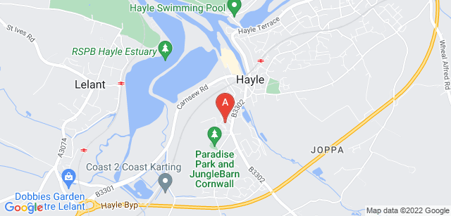 Google static map for Cornwall Hospice Care - St Julia's