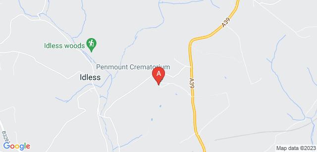 Google static map for Penmount Crematorium