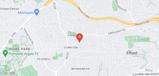 Google static map for St Luke's Community Service