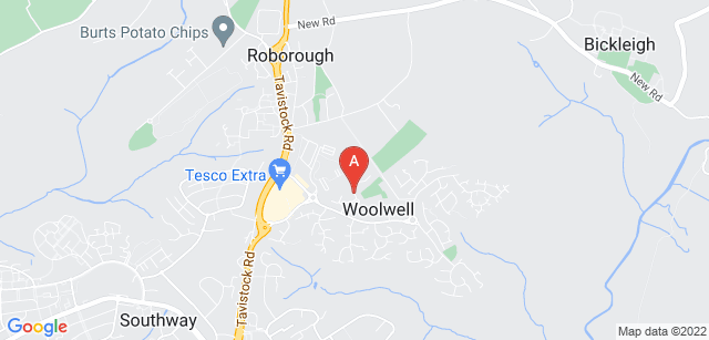 Google static map for Weston Mill Cemetery and Crematorium