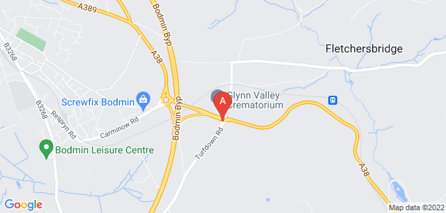 Google static map for Glynn Valley Crematorium