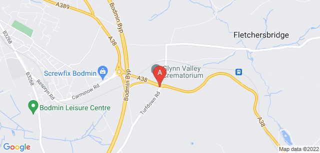 Google static map for Glynn Valley Crematorium