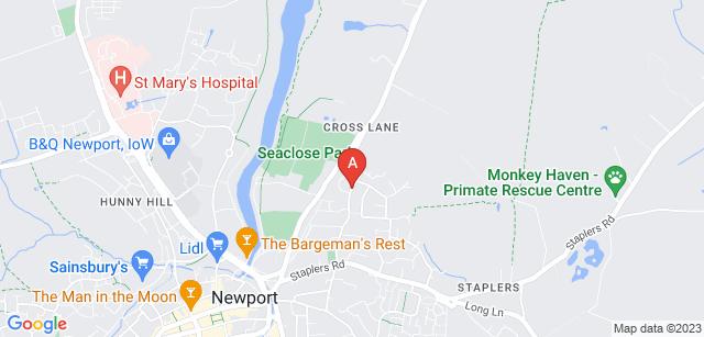 Google static map for Earl Mountbatten Hospice