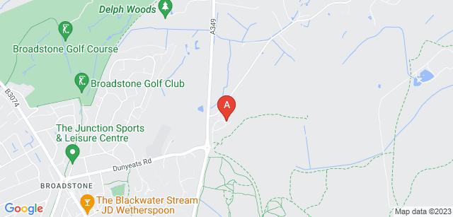 Google static map for Poole Crematorium