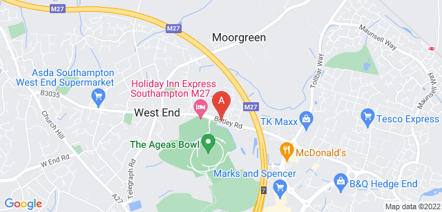 Google static map for Countess Mountbatten House