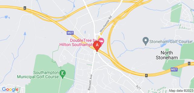 Google static map for Southampton Crematorium