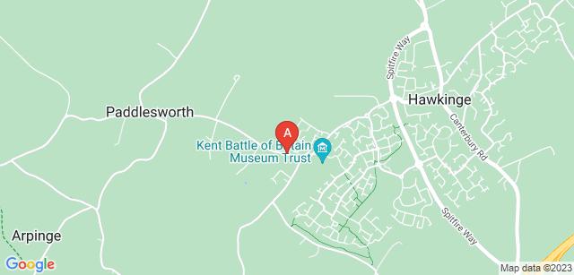 Google static map for Hawkinge Crematorium