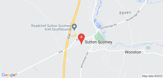 Google static map for Naomi House Children's Hospice