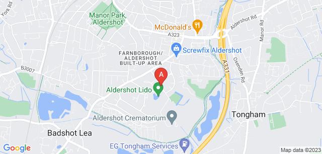 Google static map for The Park Crematorium