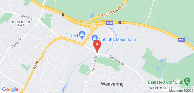 Google static map for Vinters Park Crematorium