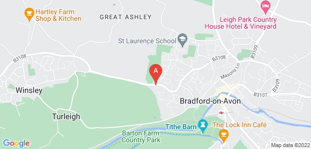 Google static map for Dorothy House Hospice Care