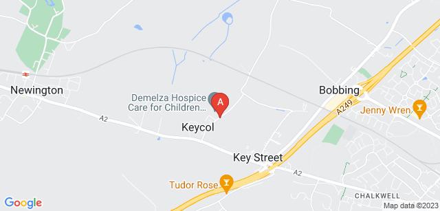 Google static map for Demelza Hospice Care for Children - Demelza Kent