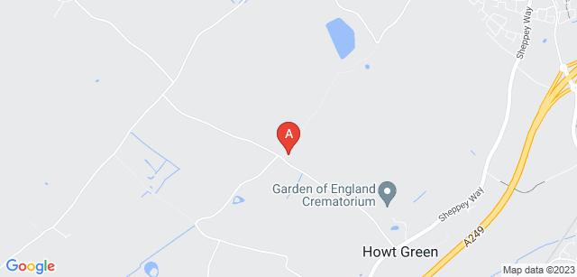Google static map for Deerton Natural Burial Ground