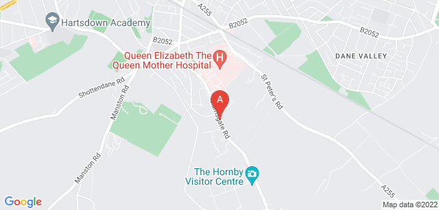 Google static map for Pilgrims Hospices in East Kent - Thanet