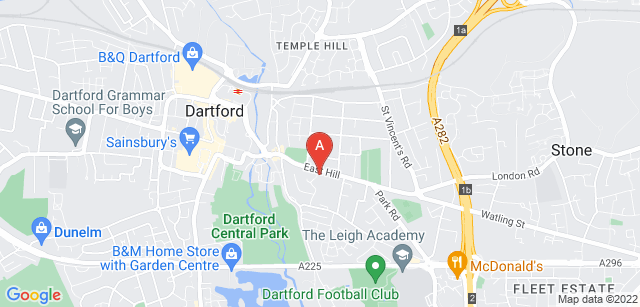 Google static map for ellenor - Dartford