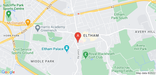 Google static map for Demelza Hospice Care for Children - Demelza South East London