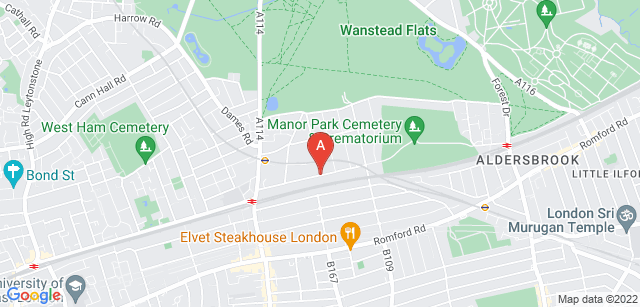 Google static map for Manor Park Cemetery  and Crematorium