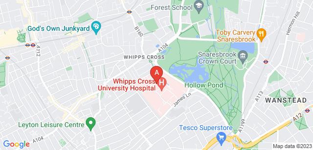 Google static map for Margaret Centre
