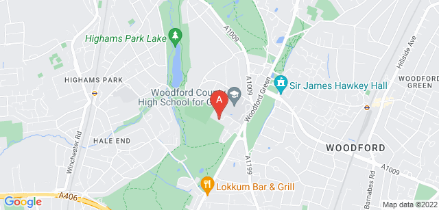 Google static map for Haven House Children's Hospice