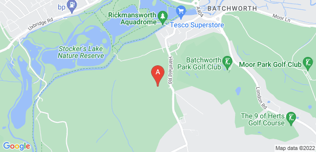 Google static map for Woodcock Hill Woodland Cemetery