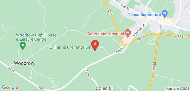 Google static map for Chilterns Crematorium
