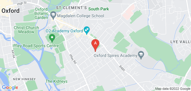 Google static map for Helen & Douglas House Hospice Care for Children & Young Adults