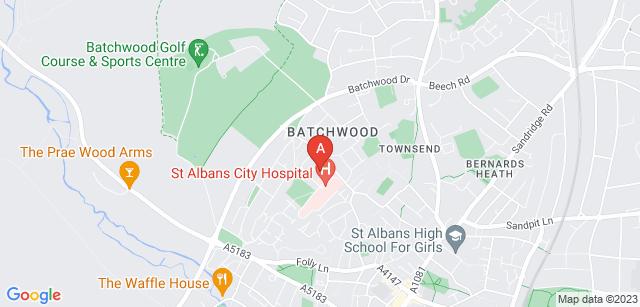 Google static map for Rennie Grove Hospice Care - Grove House