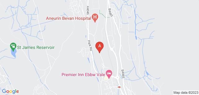 Google static map for Hospice of the Valleys/Hosbis y Cymoedd
