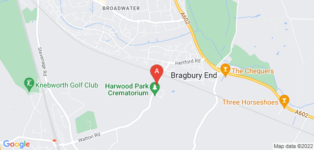 Google static map for Harwood Park Crematorium